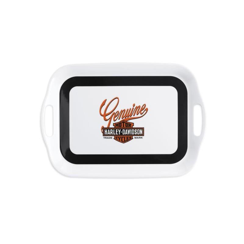 H-D Genuine Bar & Shield Logo Melamine Serving Tray