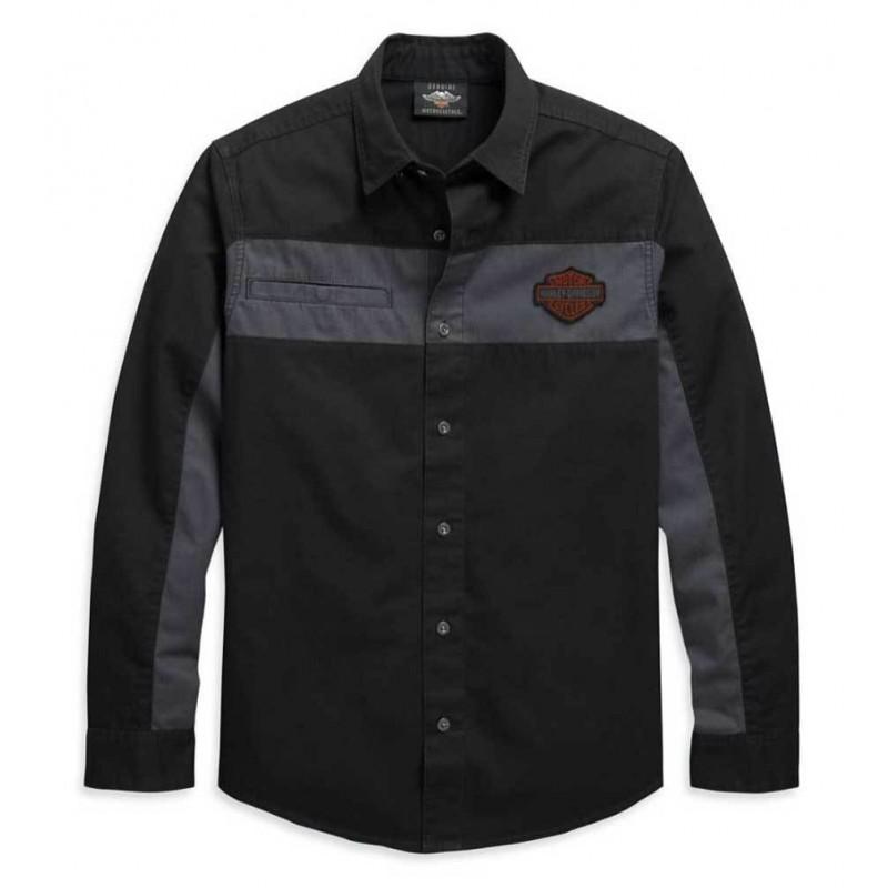 Men's Copperblock Long Sleeve Woven Shirt