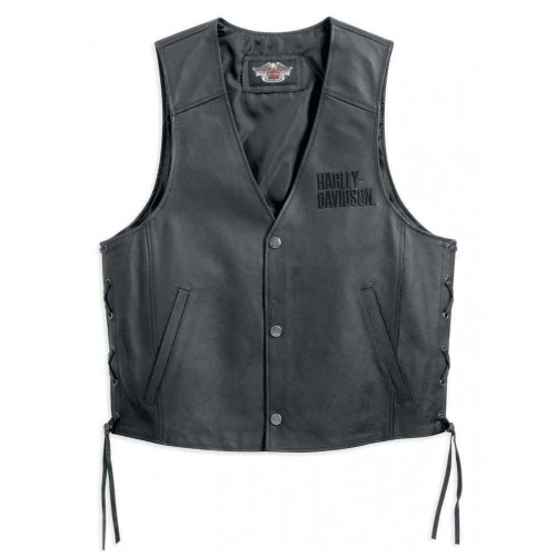 Men's Traditional Leather Vest