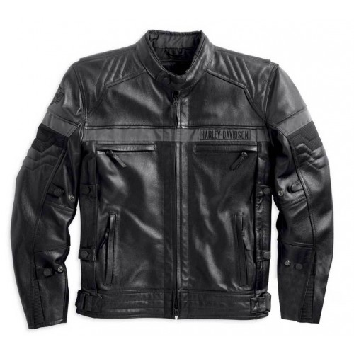 Men's Triple Vent System Evolution Leather Jacket