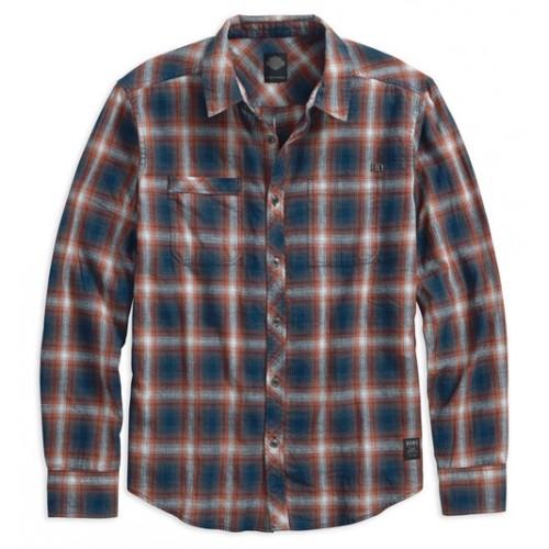 Men's Black Label Shadow Plaid L/S Shirt