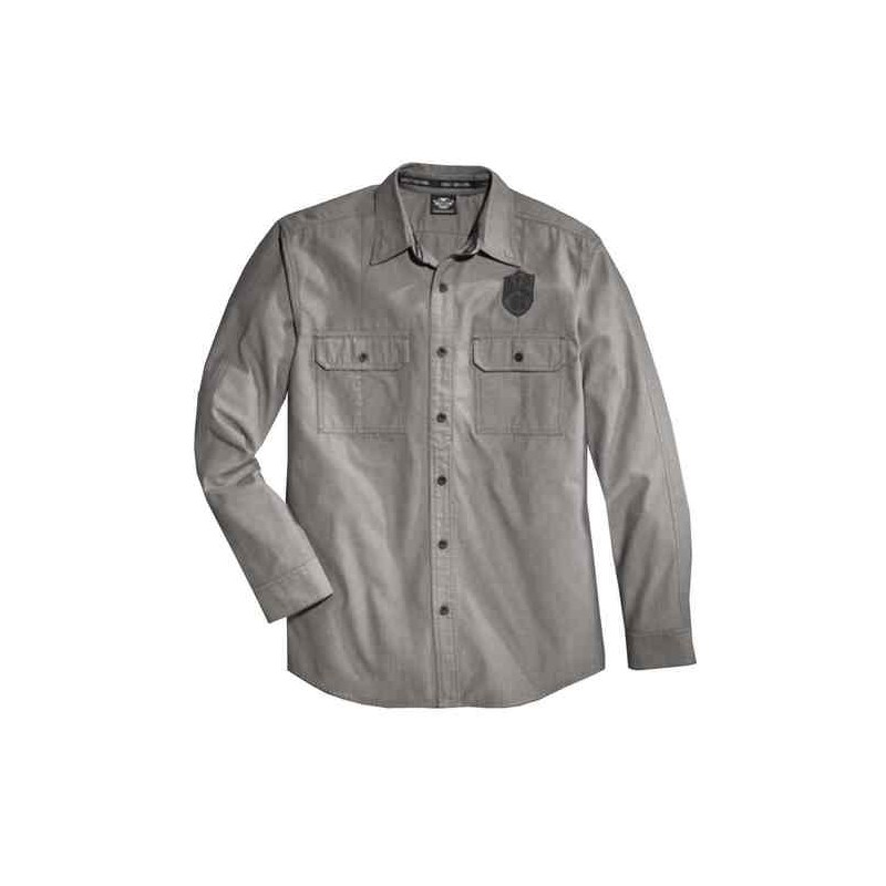 Men's Wrinkle-Resistant Textured L/S Shirt