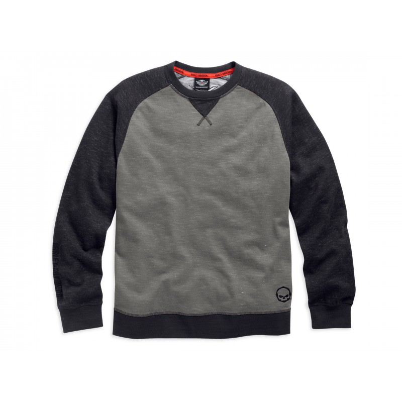 Men's Raglan Crew Neck Sweatshirt