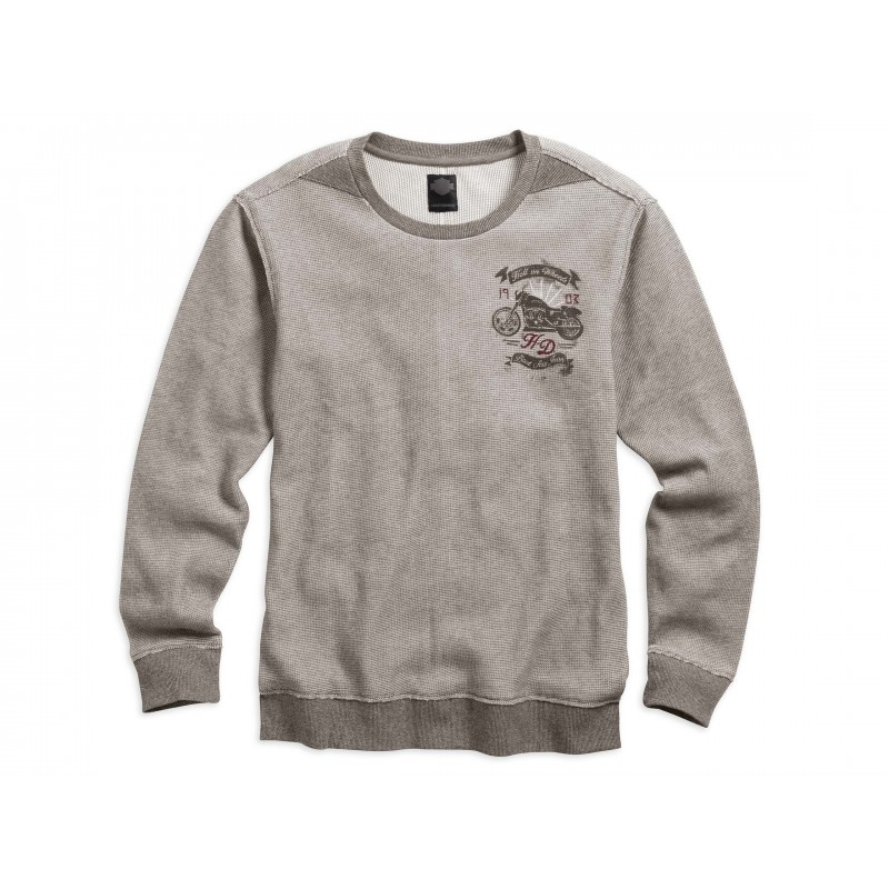Men's Hell on Wheels Waffle Knit Shirt