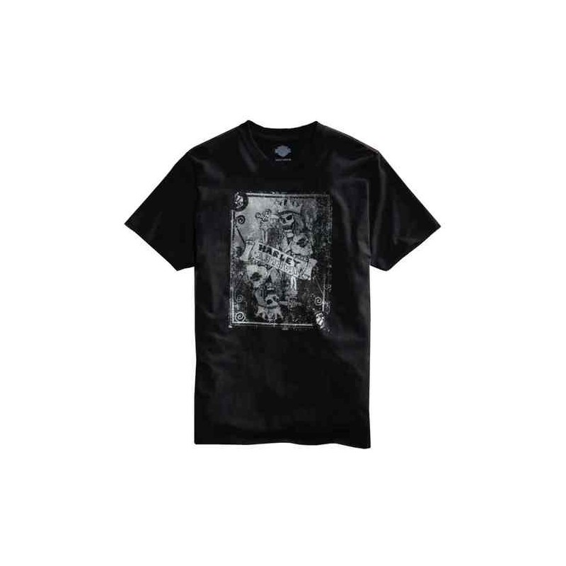 Men's Black Label Crowned Skeleton S/S Tee