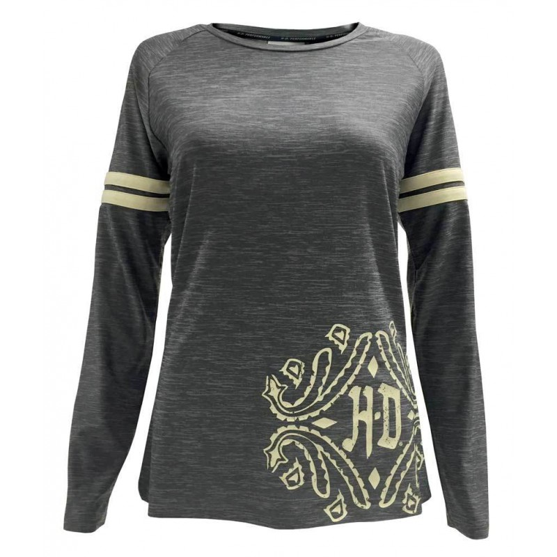 Women's Performance Raw-Edge Raglan Sleeve Shirt