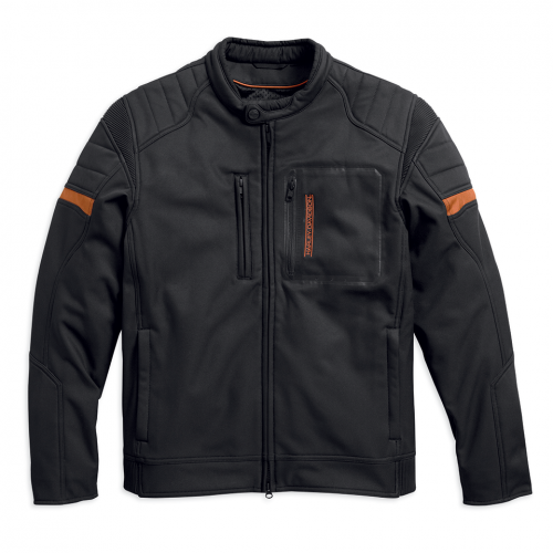 Harley-Davidson Men's Longhorn Windproof Riding Jacket