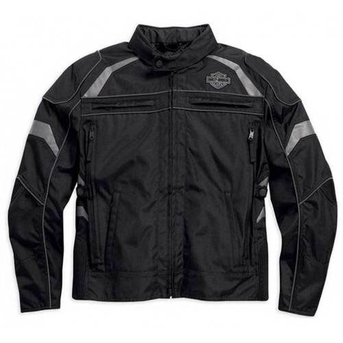 Harley-Davidson Men's Medallion Reflective Riding Jacket