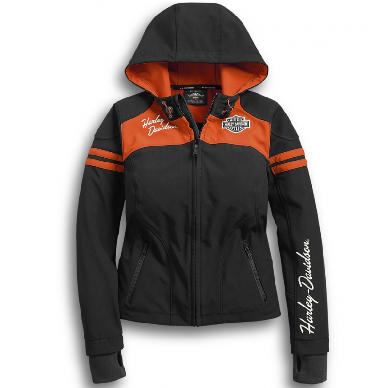 Harley-Davidson Women's Miss Enthusiast Soft Shell Jacket