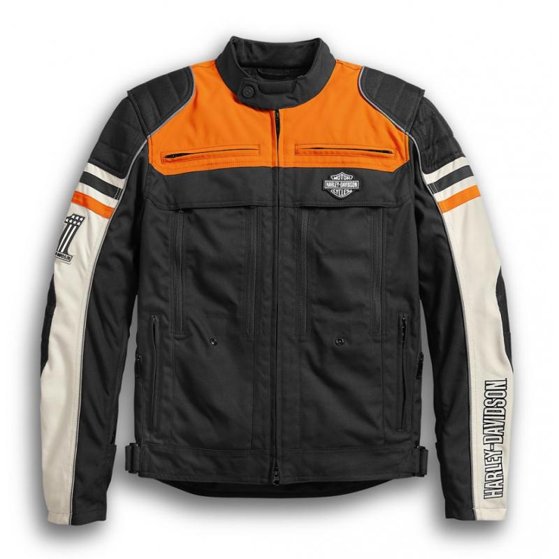 Harley-Davidson Men's Metonga Switchback Lite Riding Jacket